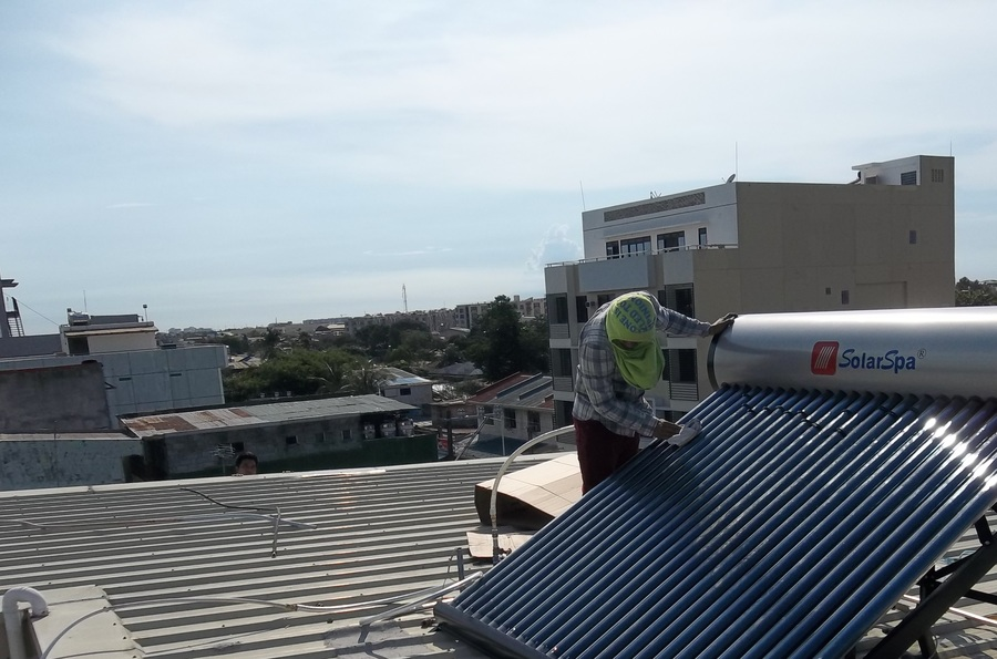 Solar Water Heater In Mandaluyong City Metro Manila