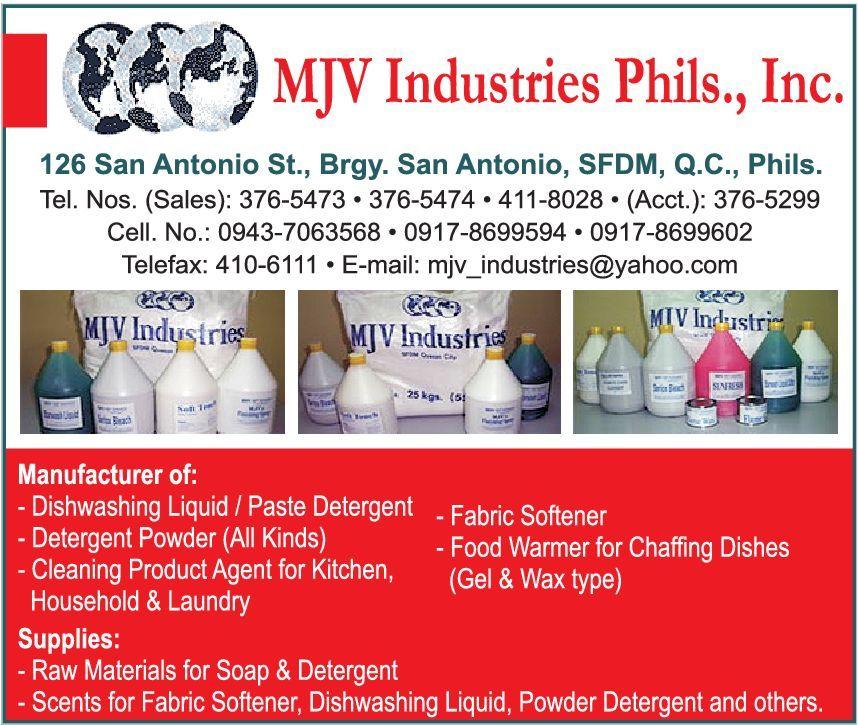 MJV INDUSTRIES PHILIPPINES in Quezon City, Metro Manila