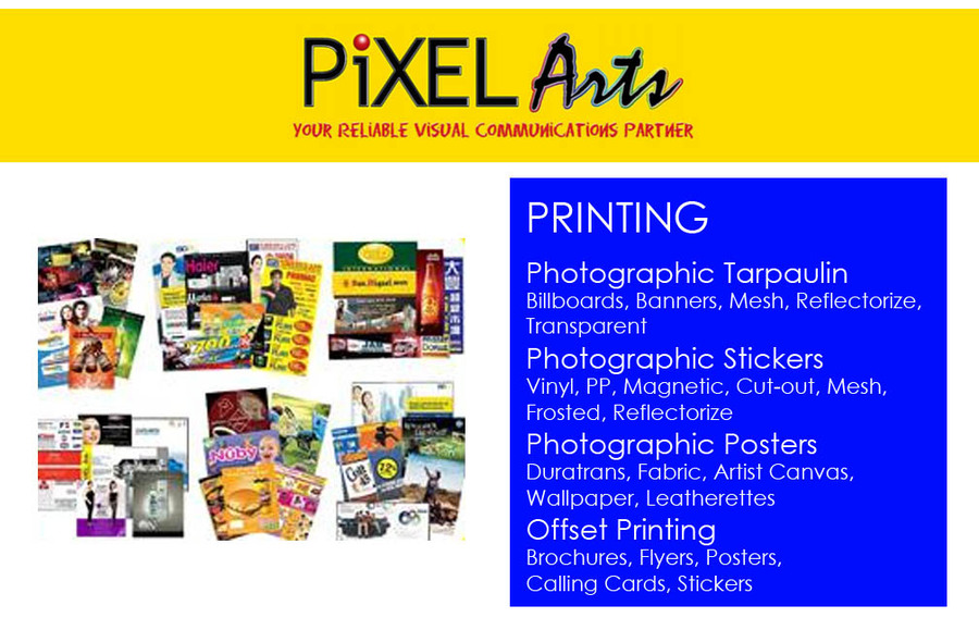 Photos & Videos of PIXEL ARTS (PIXARTS) LARGE-FORMAT DIGITAL