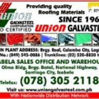 UNION GALVASTEEL in Calamba City, Laguna - Yellow Pages PH