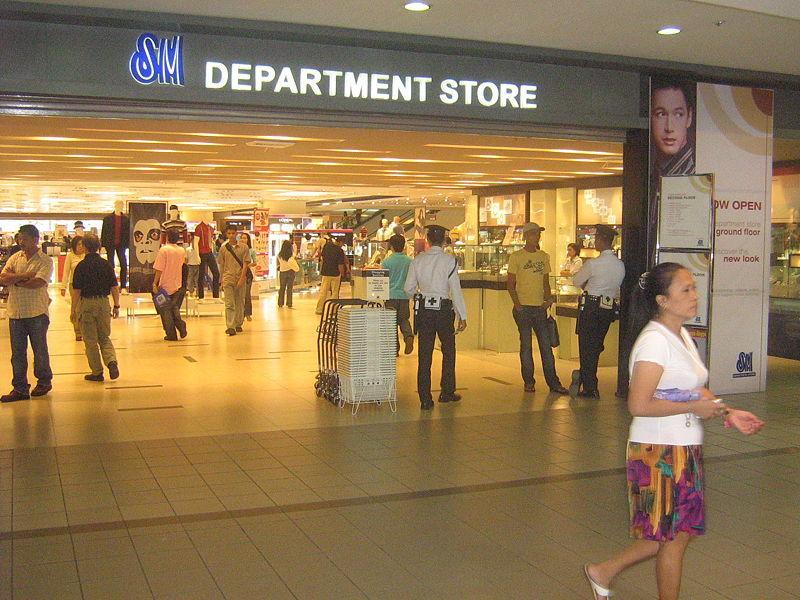 THE SM STORE In Mandaluyong City, Metro Manila