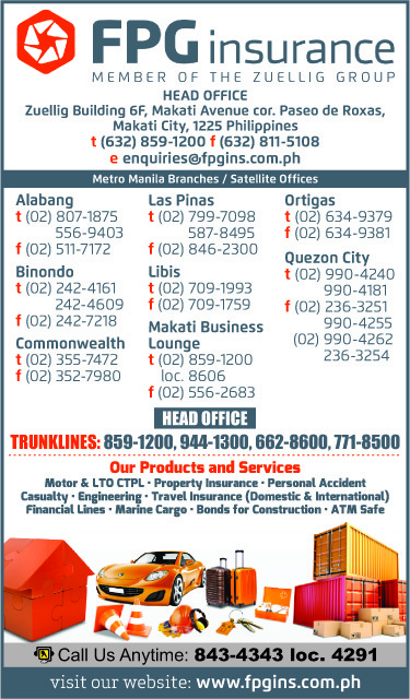 Commercial Insurance Brokers >> FPG INSURANCE in Makati City, Metro Manila - Yellow Pages PH