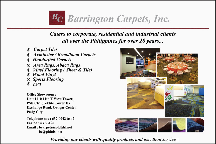 Barrington Carpets In Pasig City Metro Manila Yellow Pages Ph