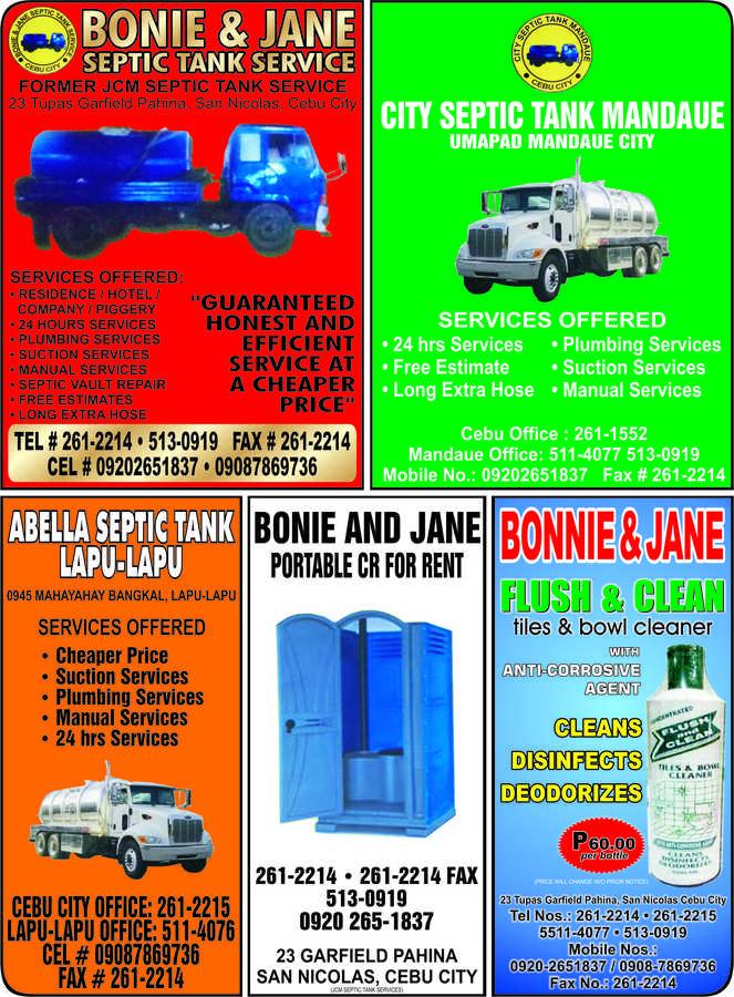 JCM SEPTIC TANK SERVICE in Cebu City, Cebu - Yellow Pages PH